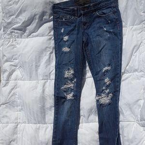 Pink Victoria Secret Limited Edition jeans sz 2